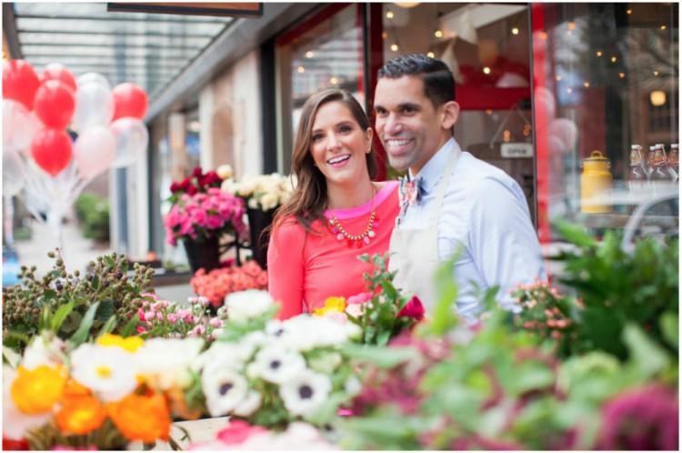 Sinclair & Moore Valentines Pop up Flower Shop 10