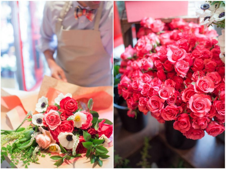 Sinclair & Moore Valentines Pop up Flower Shop 17