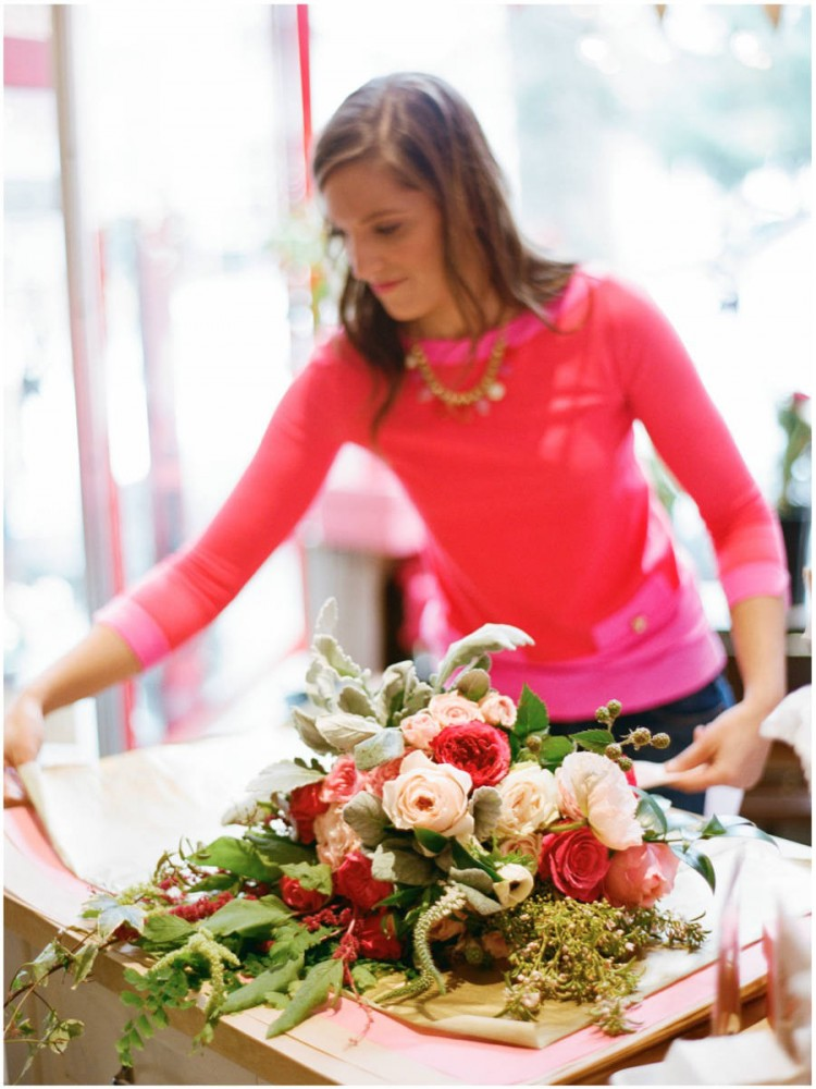 Sinclair & Moore Valentines Pop up Flower Shop 18