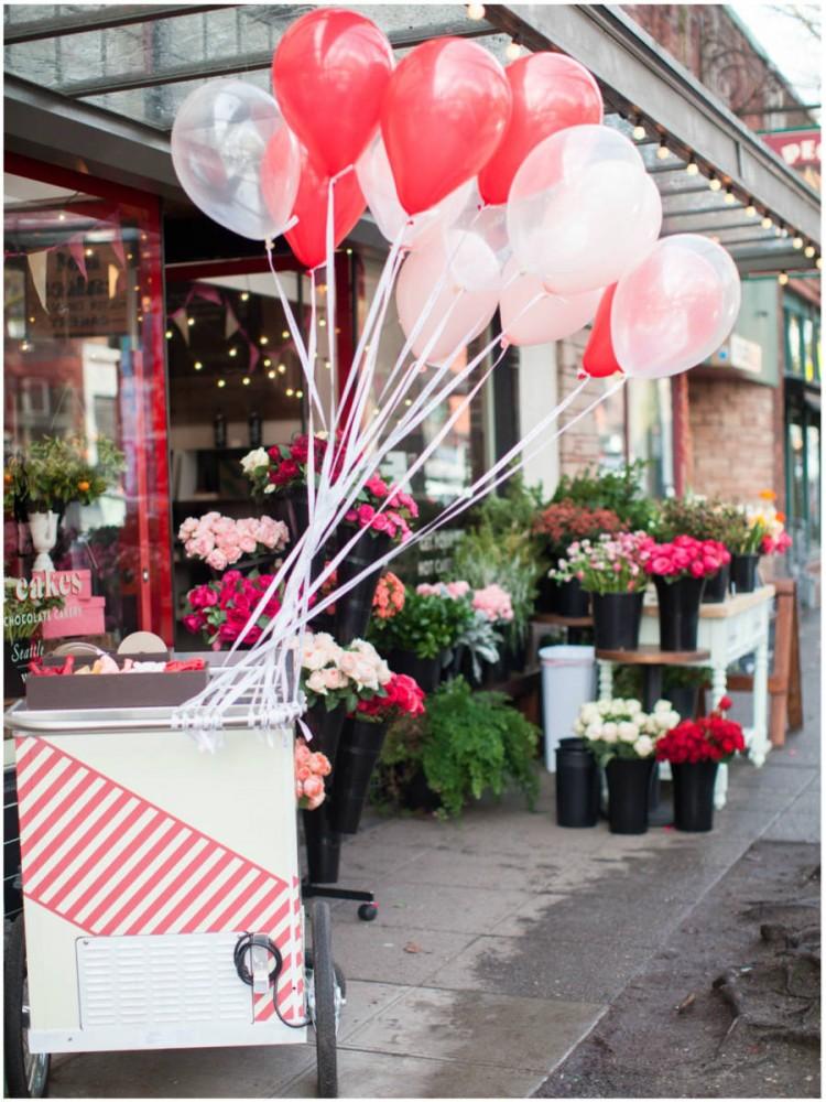 Sinclair & Moore Valentines Pop up Flower Shop 3
