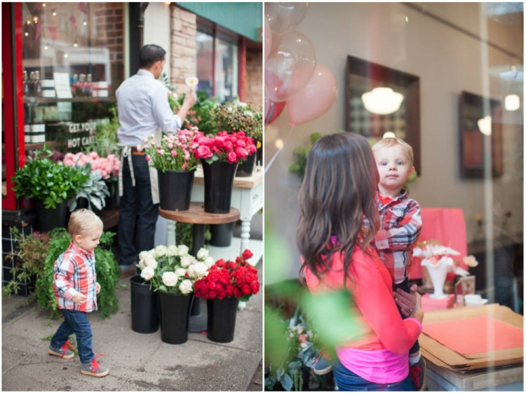 Sinclair & Moore Valentines Pop up Flower Shop 37