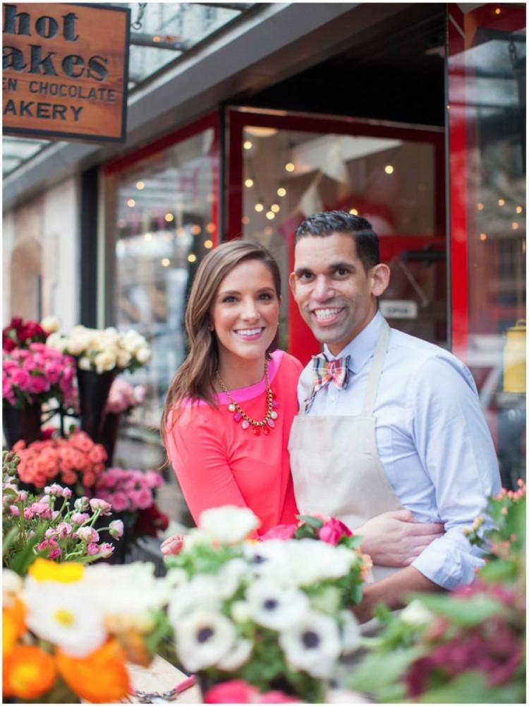 Sinclair & Moore Valentines Pop up Flower Shop 4