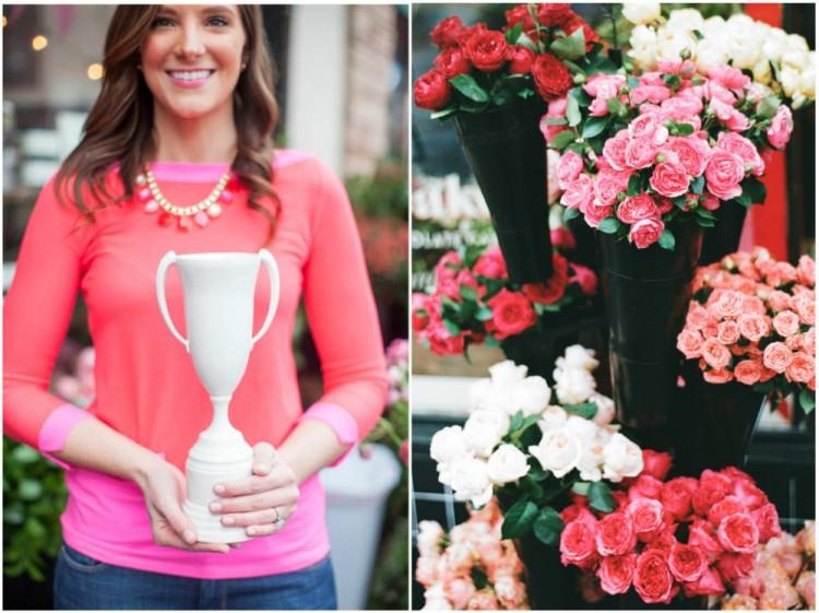 Sinclair & Moore Valentines Pop up Flower Shop 5