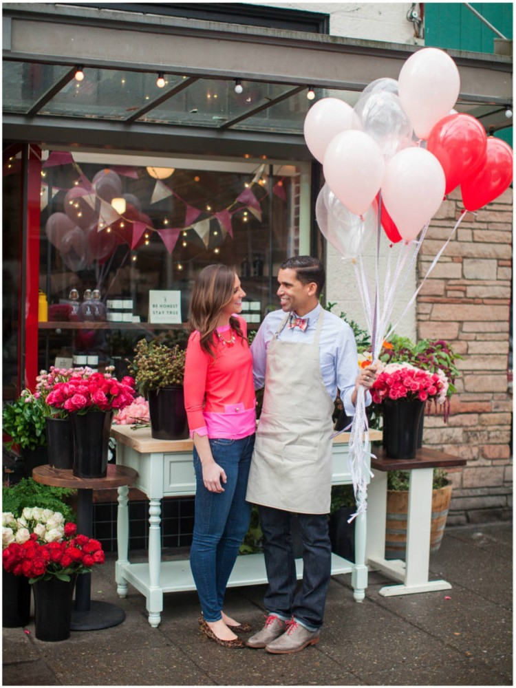 Sinclair & Moore Valentines Pop up Flower Shop 8