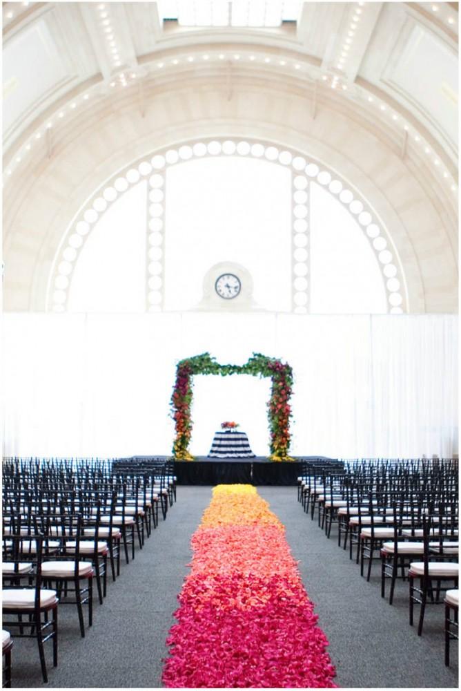 Sinclair & Moore Hanna and Bret Rainbow Wedding  22