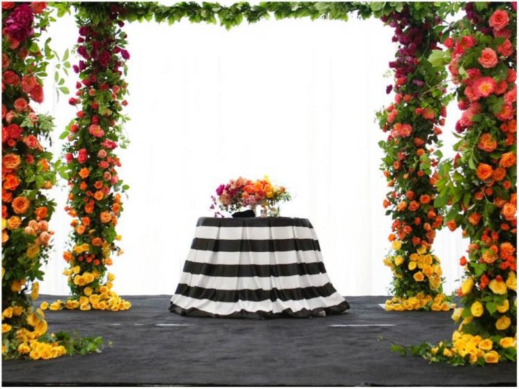 Sinclair & Moore Hanna and Bret Rainbow Wedding  25