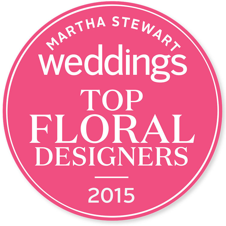 Martha Stewart Weddings Top Floral Designers 2015