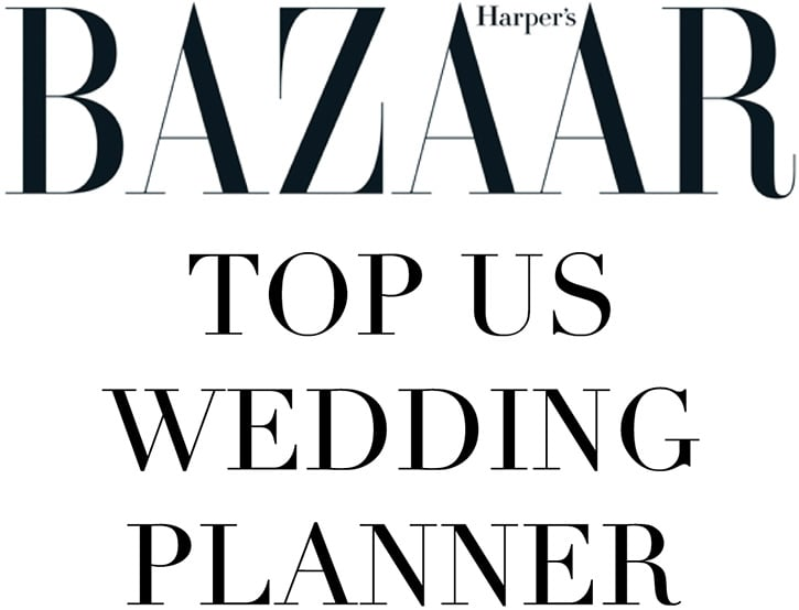 Harper's Bazaar Top US Wedding Planner
