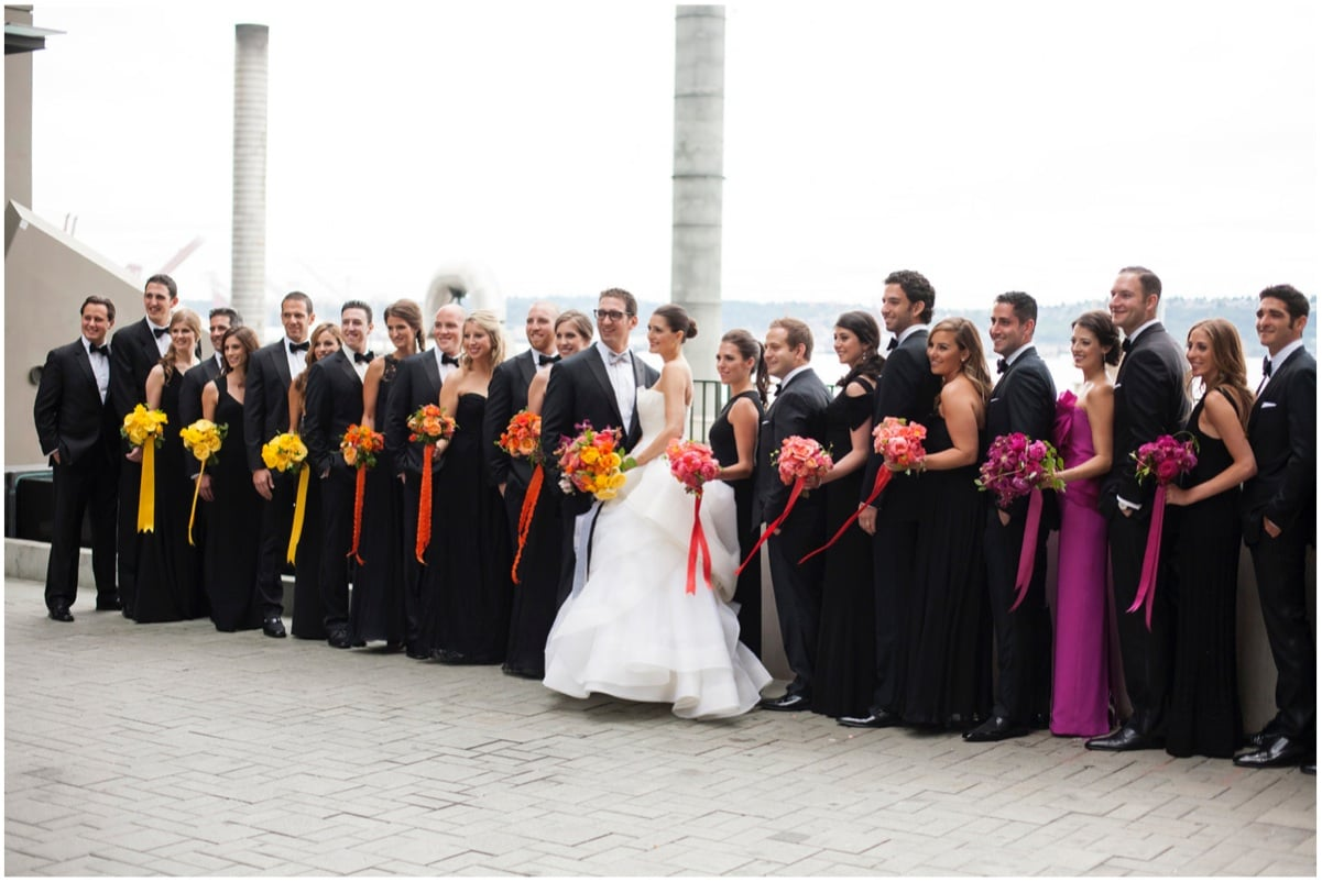 Sinclair & Moore Hanna and Bret Rainbow Wedding 15