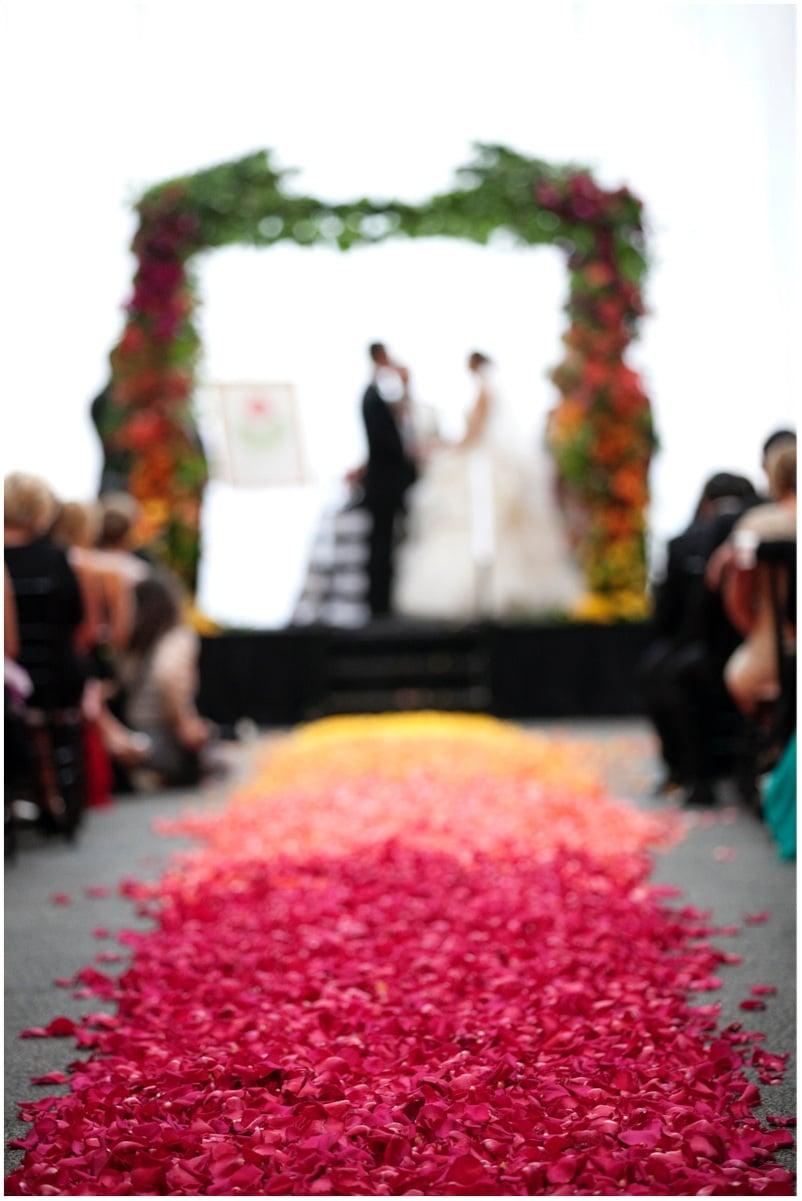 Sinclair & Moore Hanna and Bret Rainbow Wedding 39