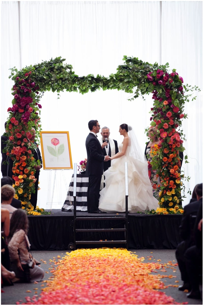 Sinclair & Moore Hanna and Bret Rainbow Wedding 40